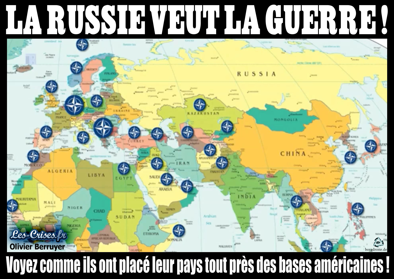 La Russie veut la guerre !