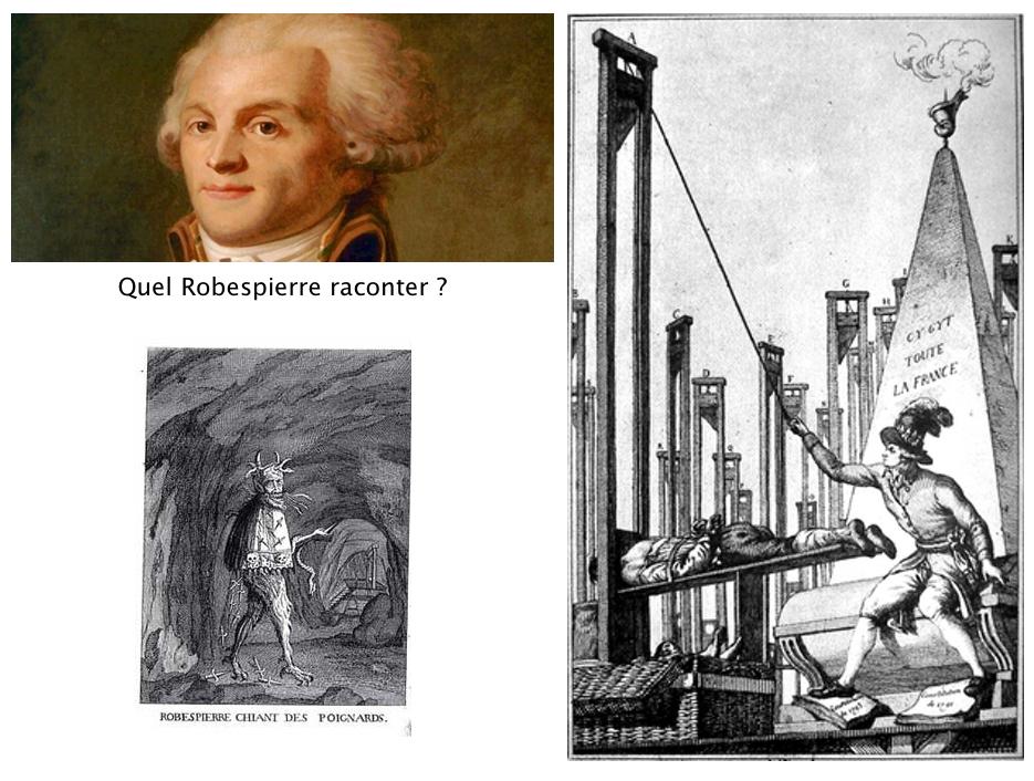 Quel Robespierre raconter ?