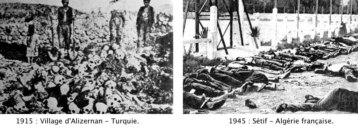 Massacres turcs et français