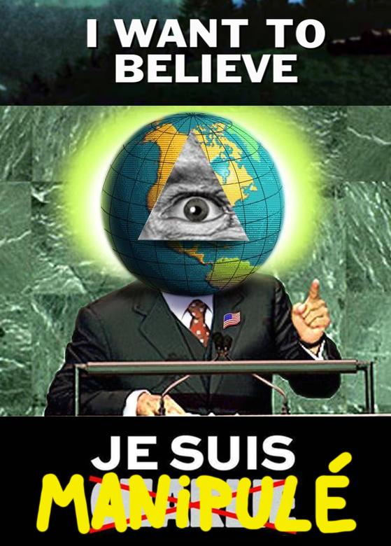 Complot-Je suis manipulé
