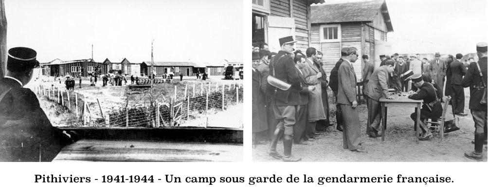 Pithiviers-1941-1944-Un camp français