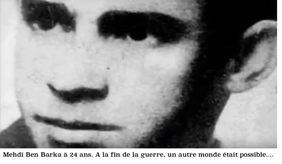 Mehdi Ben Barka 24 ans en 1944