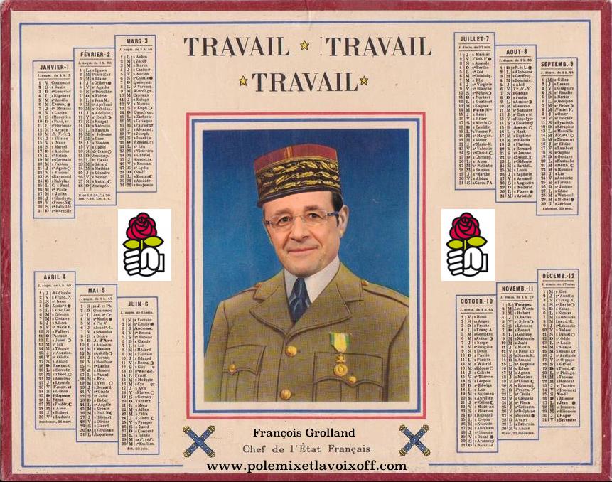 Hollande - Travail Travail Travail