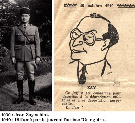 Jean Zay soldat et diffamé dans Gringoire