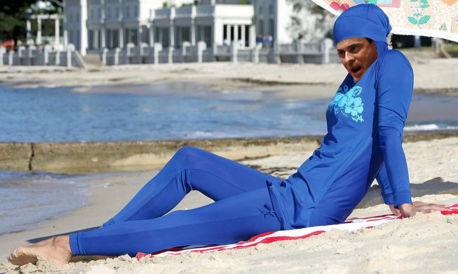 Valls en burkini