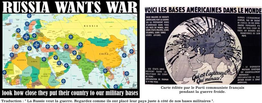 La Russie veut la guerre