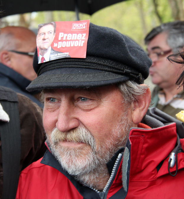 En 2012, André, notre copain prof d'Histoire-Géo votait déjà Mélenchon...