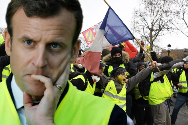 Макрон анонсирует реформы, вызванные влиянием протестов «желтых жилетов»
